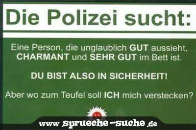 Die Polizei Sucht Spruche Suche