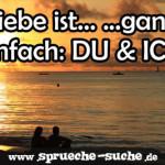Liebe ist... ...ganz einfach: DU & ICH