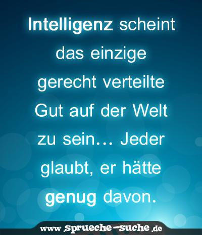 Intelligenz Sprüche Suche