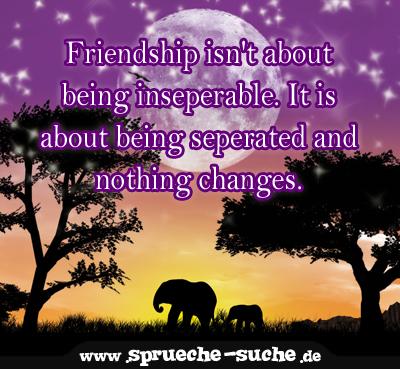 Friendship spruch