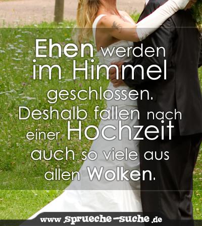 Ehen Werden Im Himmel Geschlossen Deshalb Fallen Nach Einer