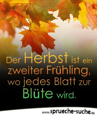 Sprüche Herbst