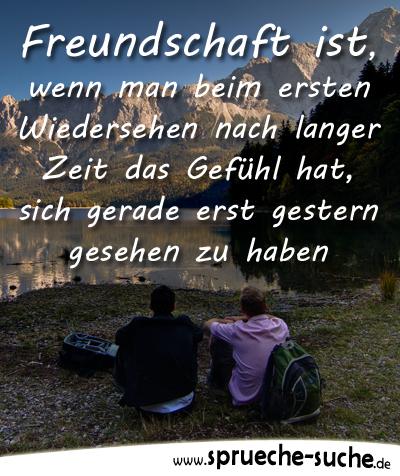Sprüche Freundschaft   Freundschaft ist, wenn man beim ersten