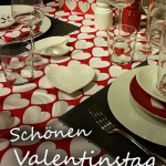 Schönen Valentinstag - Candle Light Dinner