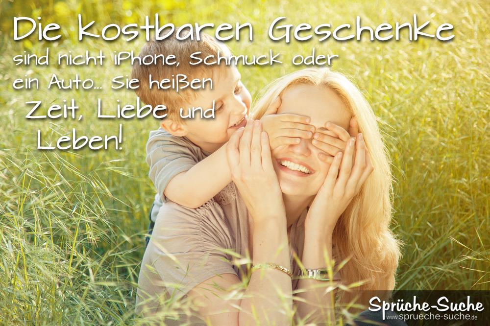 Kostbare geschenke spruch zeit liebe leben spr che suche - Bilder verschenken ...