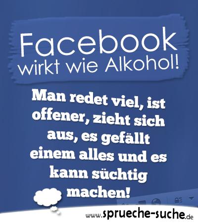 Facebook wirkt wie alkohol man redet viel ist offener zieht sich