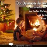Das Geheimnis der Weihnacht ist, dass wir auf unserer Suche nach dem Großen, Außergewöhnlichen auf das Unscheinbare, Kleine hingewiesen werden.