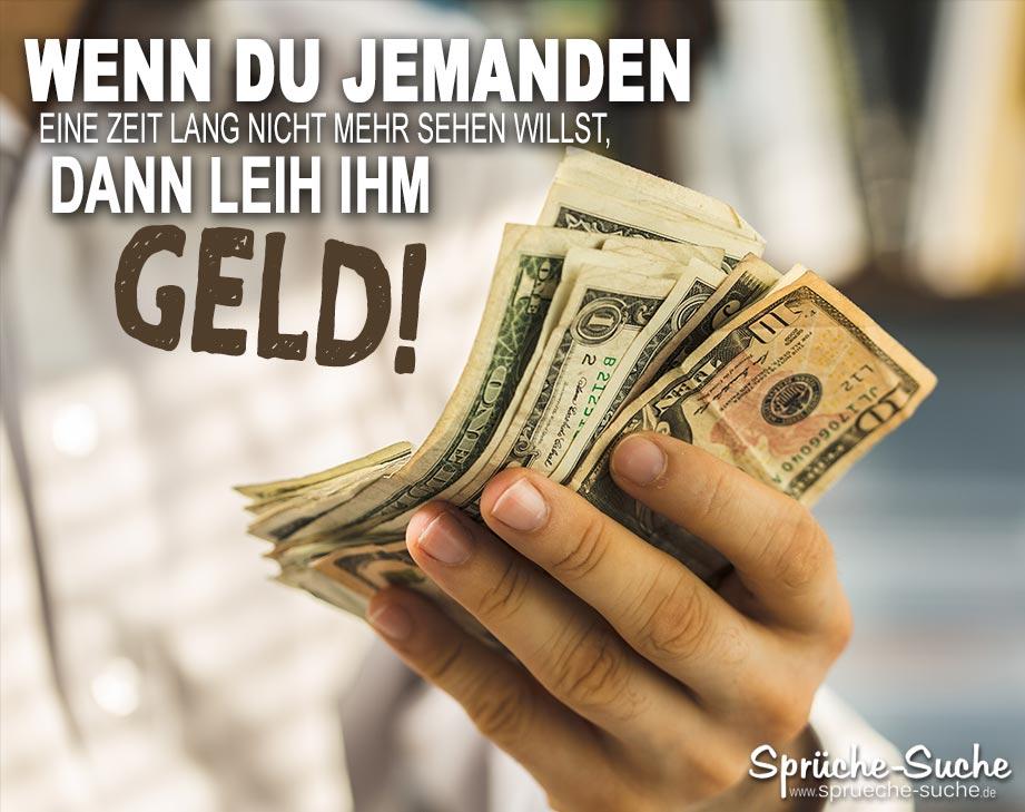 Geld verleihen | Coole Sprüche