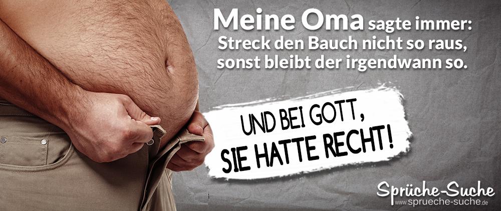 Spruch Oma Dicker Bauch Lustig Spruche Suche