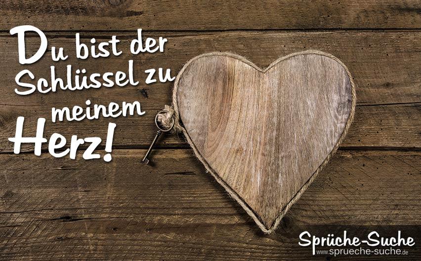 Liebesspruch U2013 Du Bist Der Schlüssel Zu Meinem Herz