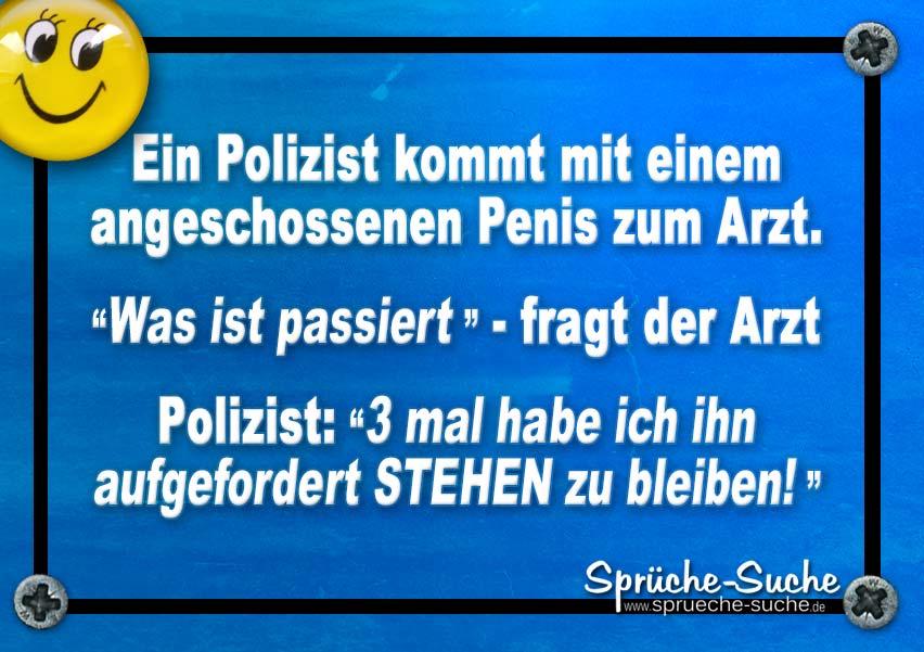 Polizei Witz Penis Spruche Suche