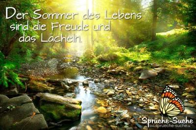Der Sommer Des Lebens Schone Spruche