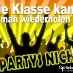 Spruchbild Party feiern!