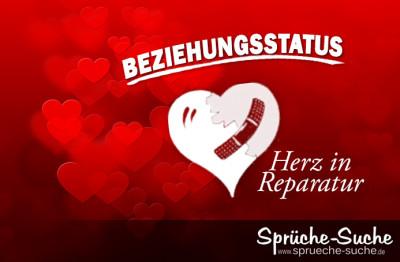 facebook sprüche zum posten Beziehungsstatus: Herz in Reparatur facebook sprüche zum posten