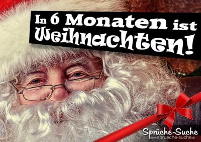 Weihnachtsmann mit weißen Bart