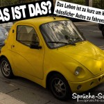 Kleines hässliches Auto