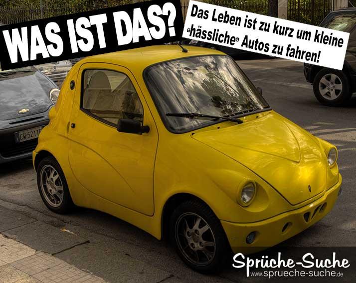 WAS IST DAS? - kleine hu00e4ssliche Autos...