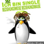 Lustiger bekiffter Pinguin