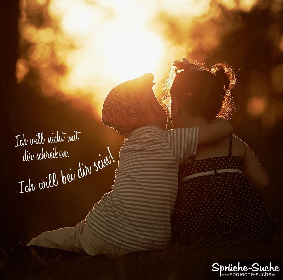 Liebessprüche - bei dir sein - Sprüche-Suche