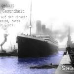 Titanic im Hafen in Southampton
