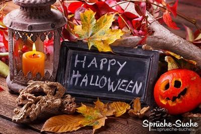 Schönes Spruchbild zu Halloween