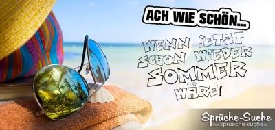 Sonnenbrille, Sonnenhut, Strand - SOMMER!
