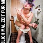 Ohne Stress zum Glück - Entspannung auf Toilette