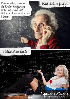 Alte strenge Mathelehrerin, sexy attraktive Mathelehrerin