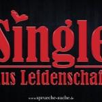 Spruchbild für Singles