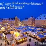 Weihnachtsmarkt Spruchbild