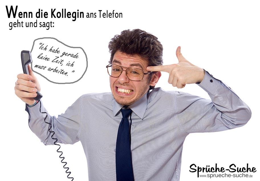 Lustige Burospruche Die Kollegin Am Telefon Spruche Suche