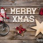 MERRY XMAS Weihnachtskarte als Weihnachtsgruß