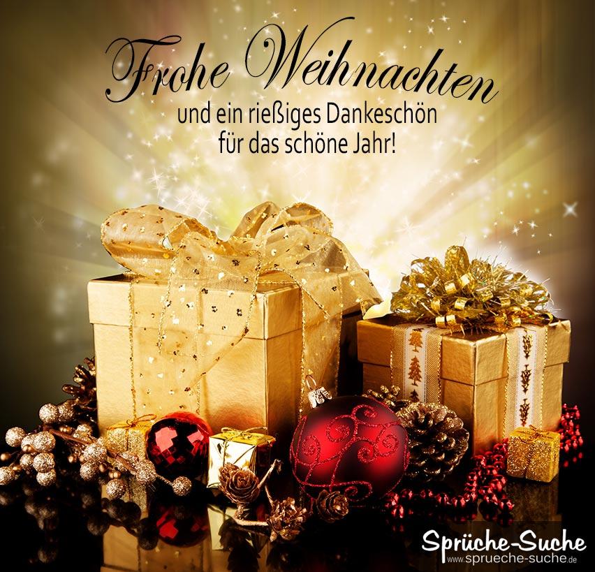 sprüche für weihnachtskarten - dankeschön - sprüche-suche