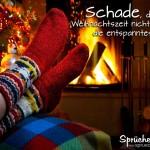 Schade, dass die Weihnachtszeit nicht immer die entspannteste ist...