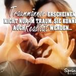 Liebe Sprüche Traummänner Spruchbild