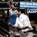 Schöner Spruch über sich liebendes Paar im Casino