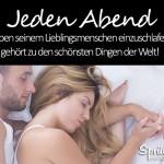 Zusammen einschlafen - das ist Liebe!