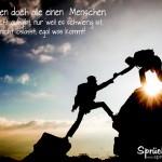 Schöner Spruch über Liebe und Freundschaft