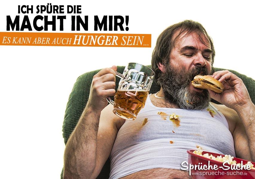 hunger sprüche lustig