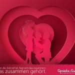 Schöner Spruch für Hochzeit, Ehe und Liebe