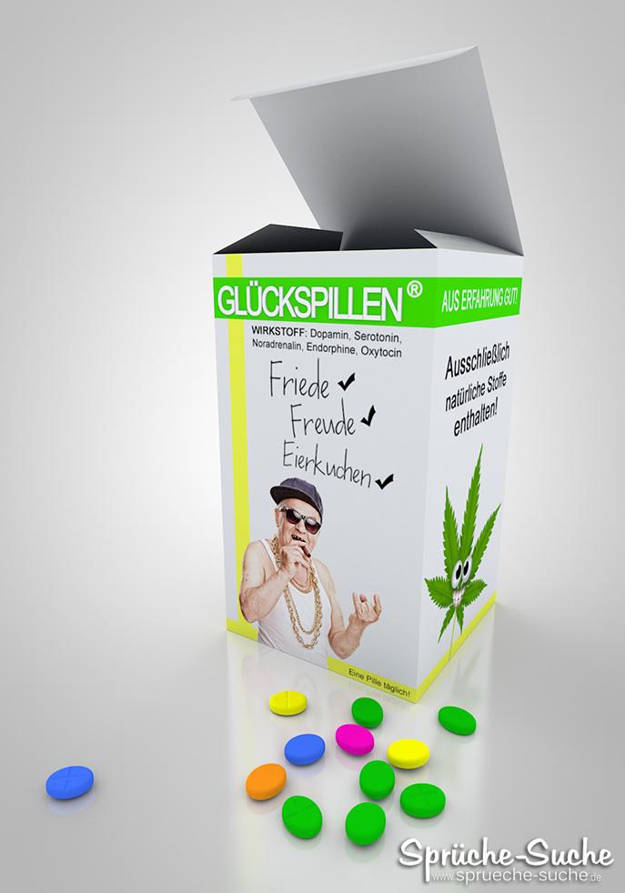 Glückspillen - Lustige Medikamentenverpackungen
