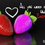 Erdbeeren in mal anderen Farben