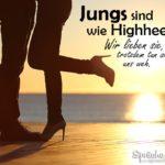 Lustige Sprüche über Jungs, Liebe und Schuhe