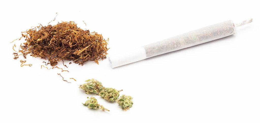 Marihuana und Joint