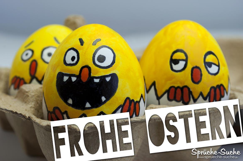Frohe Ostern Lustige Bemalte Eier Sprüche Suche