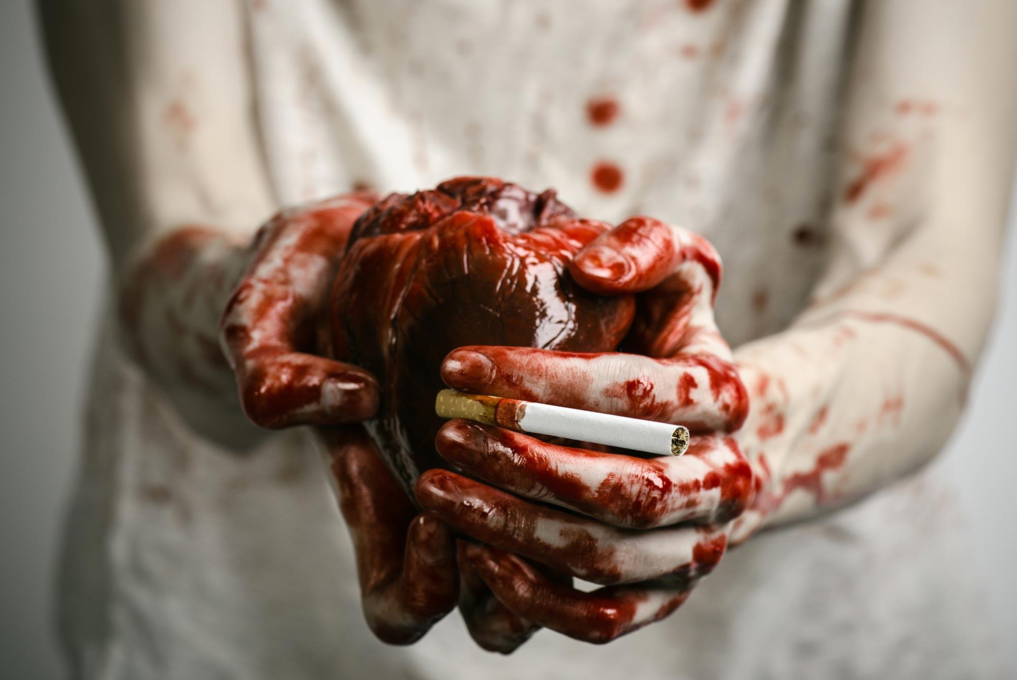 Herzschaden bei Rauchern - Anfälliger gegen Infekte