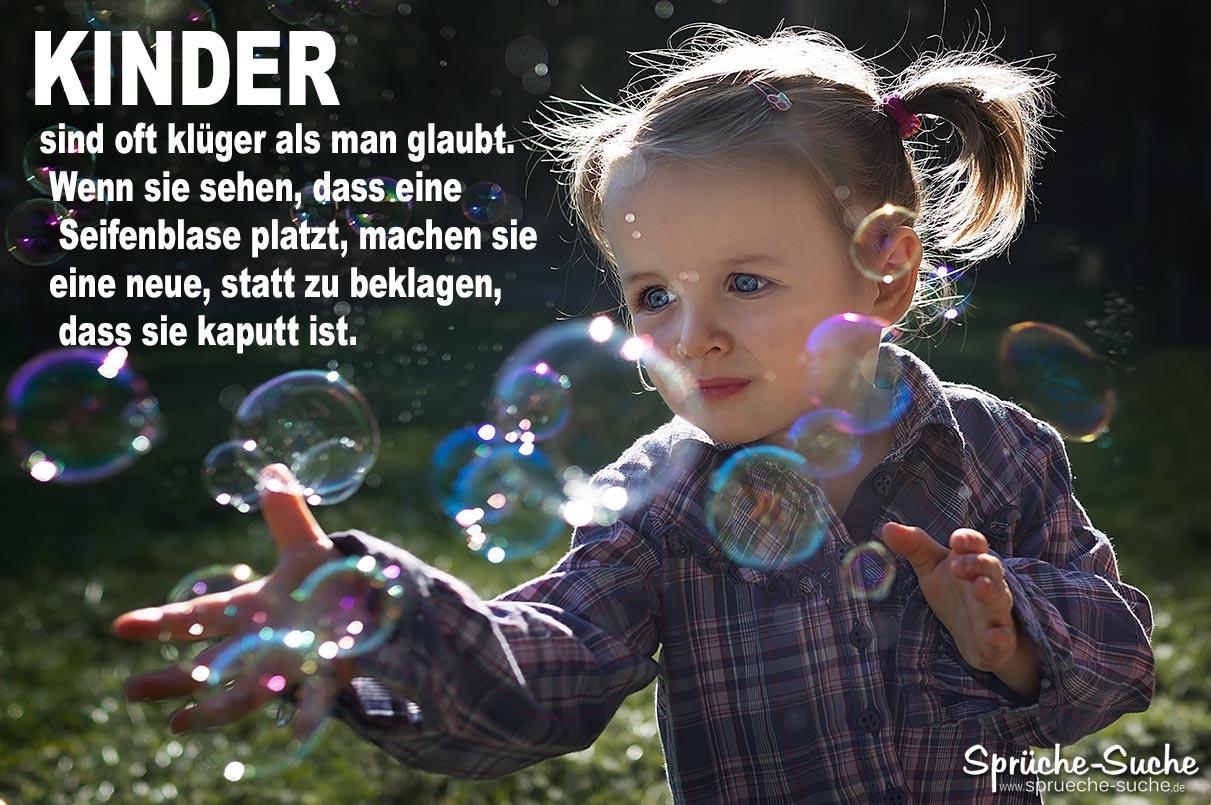 Kinder und Seifenblasen   Sprüche zum Nachdenken   Sprüche Suche