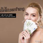 Lustige Sprüche neuer Montat - Geld & Datenvolumen