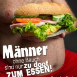 Pro dicke Männer Sprüche - Dicker Bauch