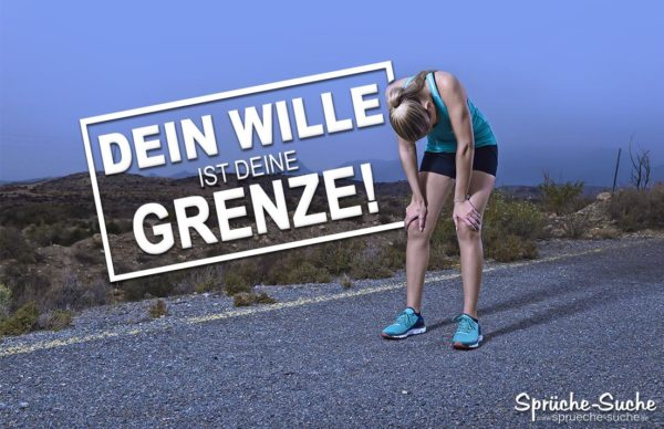 Sport Marathon - Sprüche zur Motivation